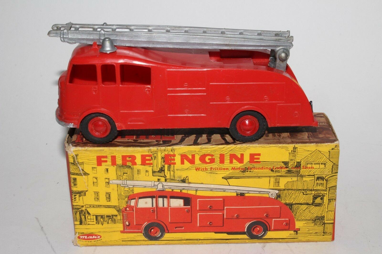 Maks-HK #2000 Commer Fire Engine - a Dinky Copy