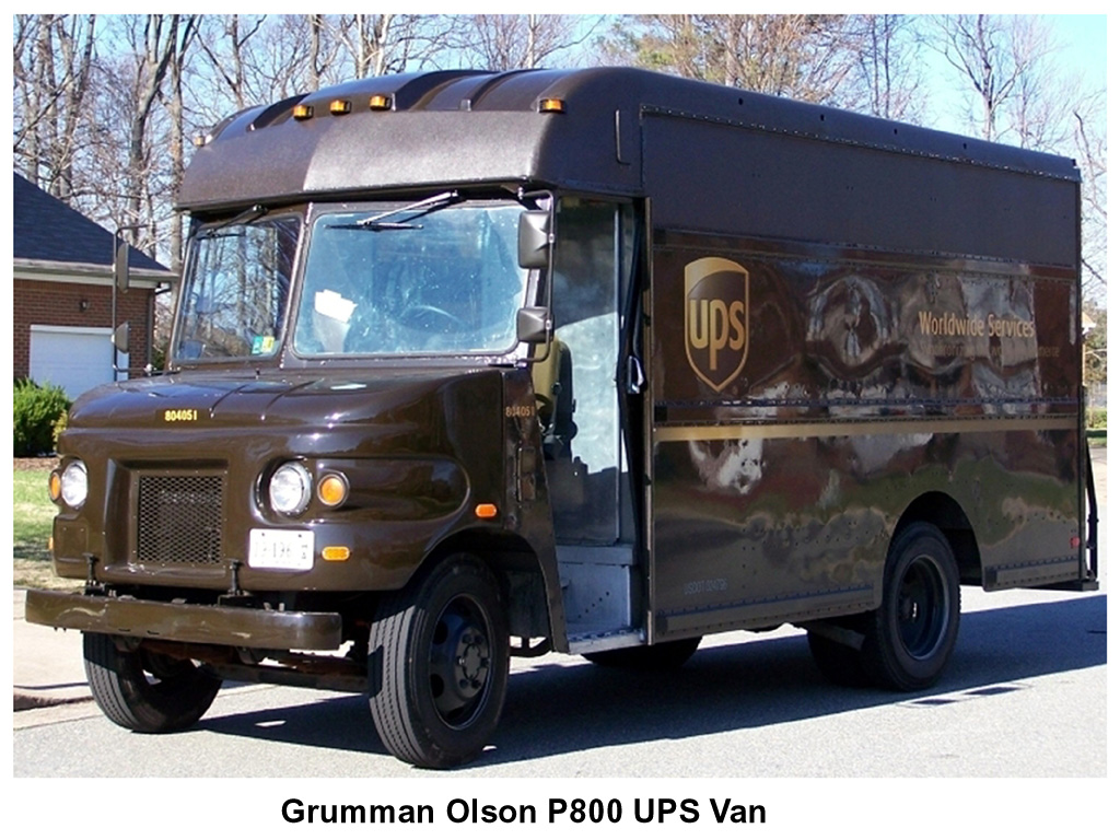 UPS truck No.804051 by William Grimes at English Wikipedia - Transferred from en.wikipedia to Commons. Licensed under Public Domain via Wikimedia Commons